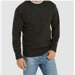 Pendleton Shetland wool crew neck sweater